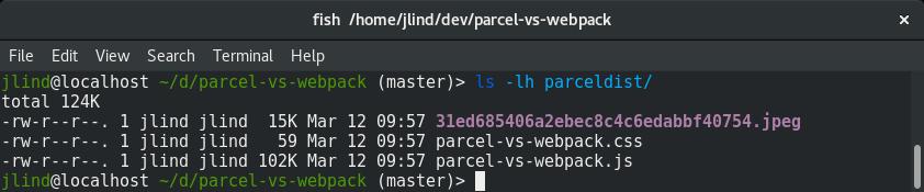 Parcel vs webpack | blog jakoblind no